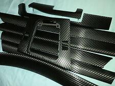 Dekorleisten Interieurleisten BMW E46 Carbon 3D Optik.  Komplettr Satz 8 Stück.