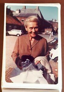1982 Colour Photograph. ELISABETH SCHWARZKOPF #2. Snape Maltings, Suffolk. Opera