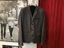 RARE French chic THE KOOPLES 350 € Femmes Veste Taille IT 44 (UE 38) 100% laine