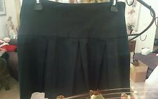 IT GIRL PLEATED MINI SKIRT LARGE BLACK