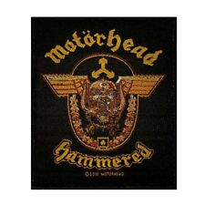 Motorhead Hammered Patch Album Cover Art Heavy Metal Band Woven Sew On Applique