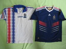 Lot 2 maillot Equipe France Vintage 1994 exterieur + 2009 Home Enfant - 12 ans
