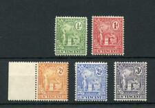 St Vincent 1907-08 set MM SG94/8