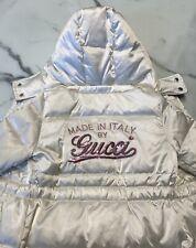 Gucci Puffer Jacket Girls Size 6
