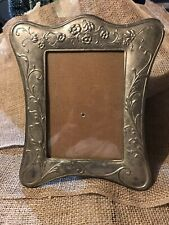 Vintage Heavy Steel? Picture Frame 5x7, Frame Is 10�x8�