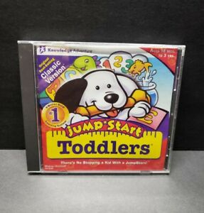 Jump Start Toddlers Classic Version Windows 98/95 PC CD-ROM Vintage Learning
