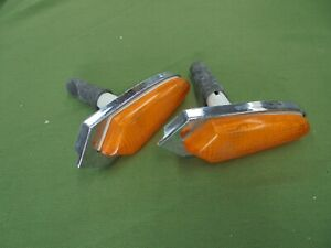 Fiat 125 Special Rubber Dinghy Pair of Indicators Side New