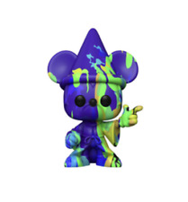 Disney Artist Series Fantasia 80th Mickey Sorcerer #2 Funko New w Box Hard Case