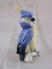 Ens Figur Kakadu Papagei Figurine Figure Porzellanfigur 29 cm Parrot Mühlenmarke