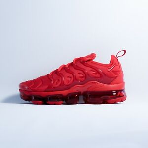 Nike Air VaporMax Plus Triple Red CW6973-600 // SHIPS FREE