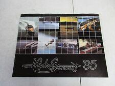 1985 hydrostream boat brochure