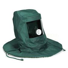 Sand Blasting Hood Abrasive Sandblaster Mask Cap Wind Dust Anti Protective M8Y7