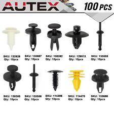 100x Clips Door Trim Retainers Assortment Kit for 2010-2014 Dodge Challenger
