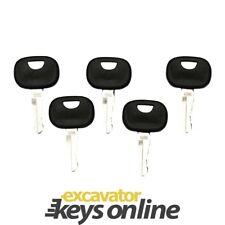 John Deere 606  Liebherr Heavy Excavator Key (Set of 5)