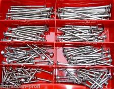 160 pièces Lot acier inox panneau de particules vis 5 TORX 5 X 30 - 5 X 80