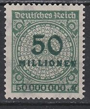 DEUTSCHES REICH  JAAR 1923 NR. 321A ** (L13)