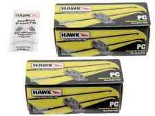 Hawk Performance Ceramic Brake Pads Front + Rear SRT8 Challenger Charger 300C