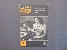 Radio praticiens Bibliothèque 9, bande magnétique joueur-Pratique, junghans, Munich 1953
