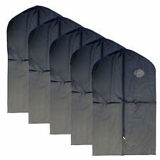 New 5 PCS Garment Bag for suit, dress black 40