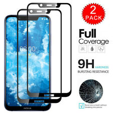 2Pcs For Nokia 8.1 - Full Coverage 9H Tempered Glass Film Screen Protector