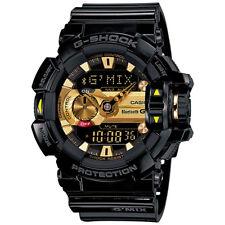 CASIO G-SHOCK G'MIX Bluetooth Black Gold Watch GShock GBA-400-1A9