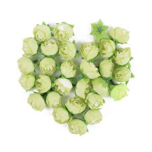 30Pcs Silk Rose Artificial Flowers Petals Fake Bouquet Wedding Party Venue Decor