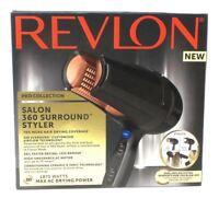 Revlon Salon 360 Surround Styler Pro Collection 1875W Hair Dryer Ionic Power