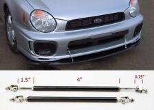 "Black 4"" Adjustable Rod Support for Korean European Bumper Lip Diffuser Spoiler"