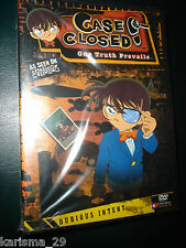 JAPANESE MANGA/ANIME CASE CLOSED Vol.4.5:DUBIOUS INTENT  3 EP RET DVD