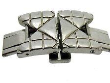 SCHLIEßE CLASP CHRISTIAN DIOR DIAMOND ARMBAND BAND BRACELET STAHL 16 MM