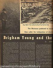When The (Mormon) Saints Went Marching+Young*,Evans,Col Burton,Capt Vliet