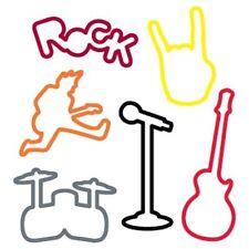 Silly Bandz Bands - Rock Band - Rubber Bracelets 24 pk.