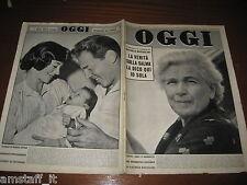 OGGI 1957/37=RACHELE MUSSOLINI=HELEN MARTINI=ANDREA FRASCHETTI=MARIO DEL MONACO=