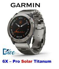 fenix 6X – Pro Solar Edition titanium with vented titanium bracelet 010-02157-24