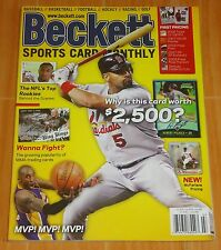 KOBE BRYANT BECKETT SPORTS CARD MONTHLY #226 JULY AUG. '10  COLLECTIBLE MAGAZINE