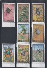 TIMBRE STAMP 8 MONGOLIE Y&T#612-19 ANIMAL INSECTE NEUF**/MNH-MINT 1972 ~B40