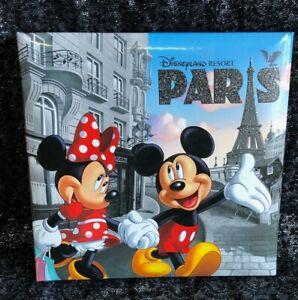 "Disneyland Paris Photo Album 50 pages 6""x4"" Mickey & Minnie Mouse"