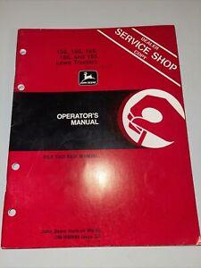 John Deere 130 160 165 180 185 Lawn Garden Tractor Operators Manual OM-M89684 G5