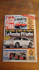Auto plus mars 1990 N°79 - POLO - PORSCHE 911 TURBO