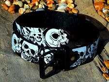 Printed Skull Belt punk rock goth gothic grunge skater emo trousers alternative