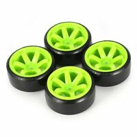 RC Car Drift Tires Tyre and Wheels 10-Spoke Blk for HSP HPI 1/10 Scale Drift@MT
