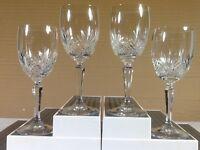 Crystal Wine Glasses Goblets Stemware Cut Glass Pineapple Cut Designs