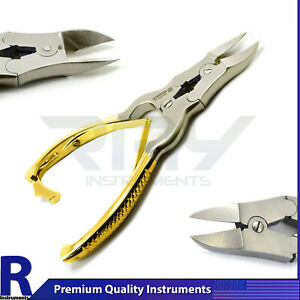 Cantilever Toe nail Clipper Half Gold Chiropody Podiatry Heavy Duty Thick Cutter