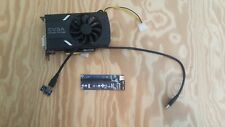 EVGA GeForce GTX 1060 6GB GDDR5 Video Card with USB riser for PCI 1x to 16x