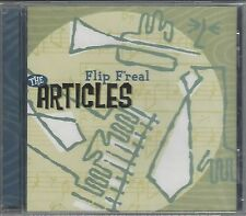 THE ARTICLES - FLIP F'REAL - (brand new still sealed cd) MOON CD 037