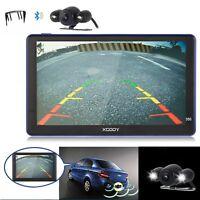 "7"" 256MB RAM 8GB Car GPS Navigation Sat Nav Reverse Camera EU UK Maps XGODY 886"