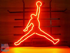 """Basketball Sport Beer Pub Bar Handcrafted Neon Sign 17""""X14"""" From USA"""