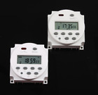 Programmable electronic timer DC 24V CN101 digital LCD relay switch weekly  photo