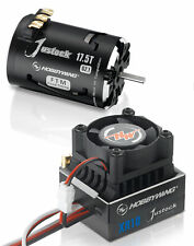 Hobbywing XR10 Justock Esc + Justock 17.5T Negro G2.1 motor sin escobillas Combo