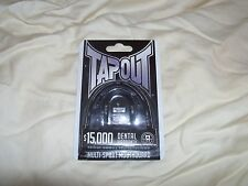 TapouT Black Sports Mouth Guard with Strap Multi-Sports Football Protective Gear